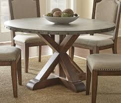 Copper Dining Room Table Table Engaging Dining Tables 54 Round Wood Pedestal Table North
