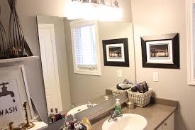 Builders Grade Bathroom by Diy Builder Grade Mirror Makeover Amidst The Chaos