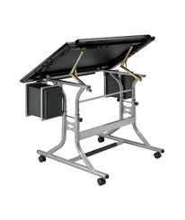 top drafting table alvin craftmaster ii glass top deluxe art and drawing table tiger