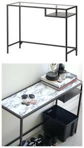 Computer Glass Desks For Home Wondrous Glass Desk Ikea For Home Design Computer Top Protector