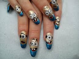 minions each nail a barrel of fun fun and novelty nail art