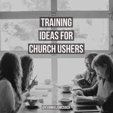 different ideas for church ushers in their ministry