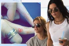 kendall jenner ignores kim kardashian u0027s advice and gets matching