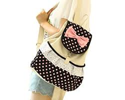 book bags with bows houser bags casual school bags backpacks demin bow