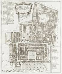 St James Palace Floor Plan by John Strype U0027s Survey Of London Online
