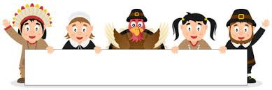 pilgrims happy thanksgiving day card stock vector image 45524773