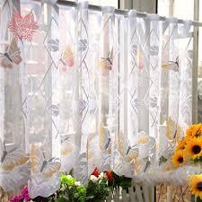 rideaux cuisine originaux fou remise d origine commerce extérieur papillon sheer rideau bay