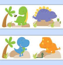 Dinosaurs Nursery Wallpaper Borders EBay - Kids room wallpaper borders
