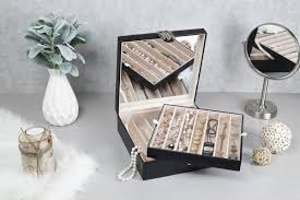 box necklace holder images Necklace holder jewelry box organizer 12 section glenor co jpg