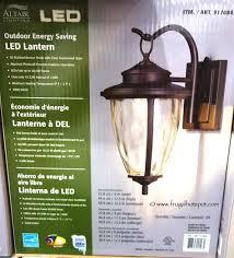 Altair Lighting Outdoor Energy Saving Led Lantern Costco
