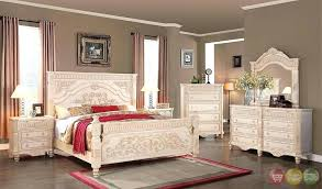 White Distressed Bedroom Furniture Rustic White Bedroom Sets Image Of Attractive White Bedroom