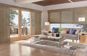 Panel Track Blinds For Sliding Glass Doors Five Window Covering Solutions For Your Sliding Door Budget