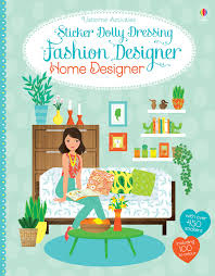 sticker dolly dressing fashion designer home designer emily bone
