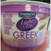 dannon light and fit nutrition dannon light fit greek yogurt nonfat strawberry cheesecake