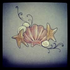 image result for traditional seashell tattoo tattoos pinterest
