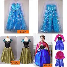 elsa costume princess elsa dress fancy costume party kids