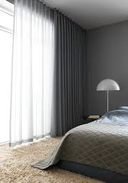 Blackout Curtains And Blinds Best 25 Grey Curtains Bedroom Ideas On Pinterest Double