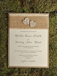 burlap wedding 22 burlap wedding invitation ideas weddingomania