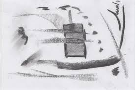 abstract sketches in charcoal corinne maakt