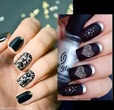 Black Manicure Designs Black Nail Designs 2015 Nail Styling