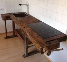 moebel design loftmöbel industrie vintage werkbank design küche in antiquitäten
