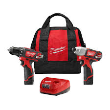 home depot combo tool black friday milwaukee m12 12 volt lithium ion cordless drill driver impact