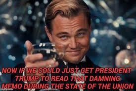 State Of The Union Meme - leonardo dicaprio cheers meme imgflip