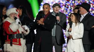 christmas 16 photos of presidents first families and santa npr