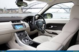 range rover evoque interior ausmotive com range rover evoque u2013 australian pricing u0026 specs