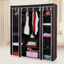 fancy portable closet storage organizer wardrobe roselawnlutheran