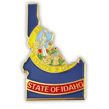 Flag Lapel Pins Bulk Pinmart U0027s State Shape Of Idaho And Idaho Flag Lapel Pin Ebay