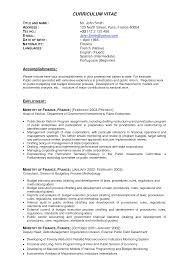 Experienced Resume Samples Resume Examples John H Doe Objective Professional Profile