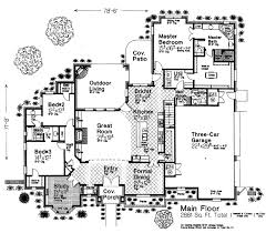 european house plan house plan 97809 at familyhomeplans com