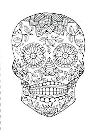 printable coloring pages sugar skulls free printable sugar skull mask skull coloring page sugar skull
