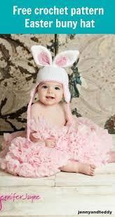 easter bunny hat easter bunny crochet hat free pattern