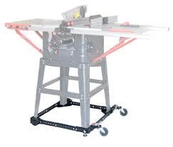 universal table saw stand with wheels adjustable universal mobile base bora portamate pm 1000 move your