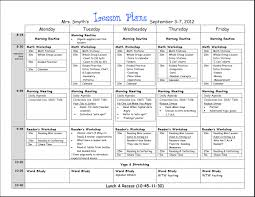 4a lesson plan sample brockband editable template for kinderg