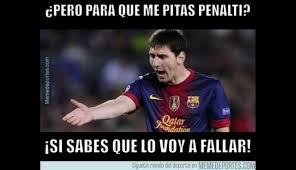 Memes De Lionel Messi - lionel messi es v祗ctima de memes por fallar penal en chions