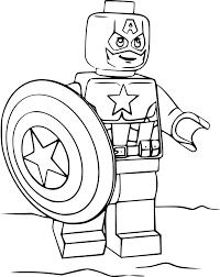 Coloriages De Lego Marvel Coloriage Super Heroes Avengers Lego
