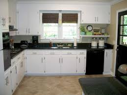 White Kitchen Cabinets With Black Countertops Kitchen Countertops Black Countertops Quartz Granite And
