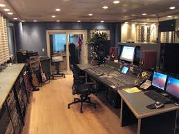 recording studio workstation desk file intermediapost recording studio jpg wikimedia commons