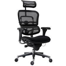 fauteuil de bureau fauteuil de bureau ergonomique spécial lombaire noir sièges et