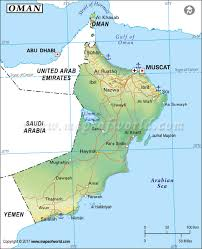 Map Of Syria And Surrounding Countries by Oman Map Map Of Oman