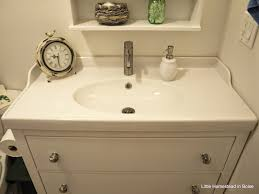 Ikea Sink With Non Ikea Faucet 12 Best Our Ikea Bathroom Remodel Images On Pinterest Bathroom