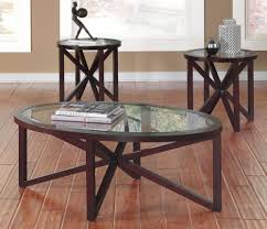 glass coffee table set of 3 discount coffee table furniture outlet chicago