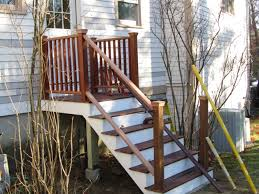 Mahogany Banister Installing Porch Railings A Concord Carpenter
