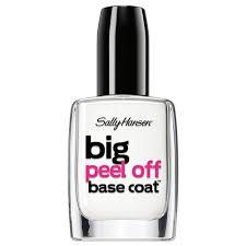 buy big peel off base coat 11 8 ml by sally hansen online priceline