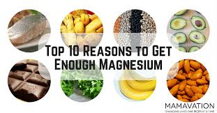 magnesium benefits top 10 reasons to get enough mamavation