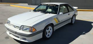 mustangs for sale on ebay 1989 saleen ssc mustang for sale on ebay ford authority