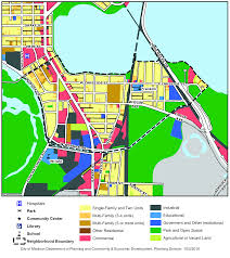 University Of Wisconsin Madison Map by Madison Neighborhood Profile Bay Creek Neighborhood Association